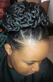 Coiffure De Mariage Sur Cheveux Naturels Kay Afro Alice