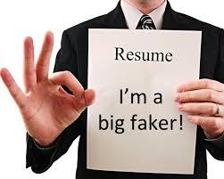Fake Resume Is Serious Matter In USA Cool Fake Resumes