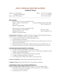 family service worker resume awesome collection of social work resumes examples best community
