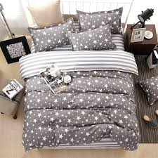 blue and white duvet cover ikea classic bedding set 3 size grey flower bed linens