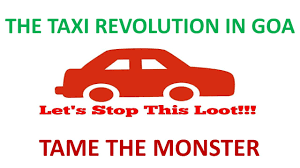 Goa Taxi Fare Chart Petition Update Goa Taxi Revolution Taming The Monster