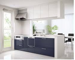 modern kitchen setup: image of modern white kitchen cabinets decor