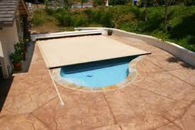 automatic pool cover fuzion 5010 top track