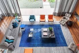 blue rug living room ideas