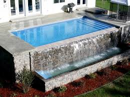infinity pool edge detail. Pool Designs, Inc. | Vanishing Edges For Your Fiberglass Swimming From Designs Inc, NJ, PA, NY And DE Infinity Edge Detail