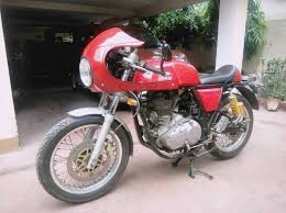 now transform your royal enfield continental gt into a triumph