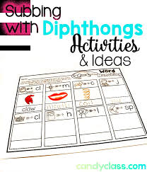 Those Diphthongs | Posts, Activities and Learning