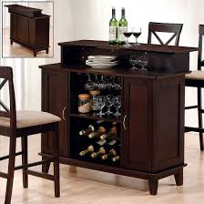 small bar furniture. small bar furniture with wooden cabinet combined sbar chairs white pad and some various wine bottles clear glasses