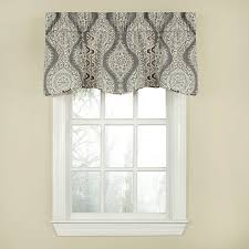 waverly moonlight medallion 18 in cotton rod pocket valance