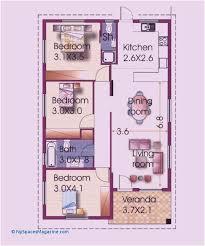 best 3 bedroom house designs floor plan for 3 bedroom house new