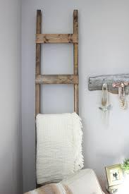 Diy Blanket Ladder 30 Minute Diy Blanket Ladder
