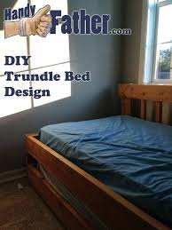 Diy Trundle Bed Diy Queen Bed Frame With Trundle Diy Twin Bed Frame ...