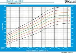 Who Growth Chart Boy 2 19 Evaluation Of Growth And Development Springerlink
