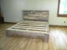 skid furniture. Pallet Bed Furniture Plans Skid Bedeasy Frames Frame Diy Instructions E