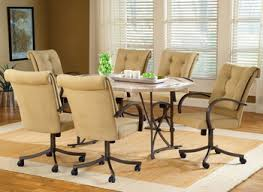 best rolling dining room chairs gallery liltigertoo home decor
