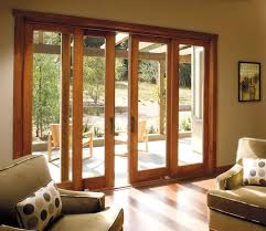 sliding doors in living room but with another set of sliding doors so the whole wall double patio doorsdouble sliding glass