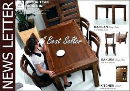 Chic teak furniture Folding Table Newsletter Indoor Teak Furniture Wood Care Before And After Maintenance Indoor Teak Furniture Coffee Tables Chic Teak Furniture Manufacturers Supplier Solid Wood Exporters And