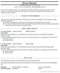 Professional Achievement Examples Resume Summary Statement Examples Entry Level Of Achievements For
