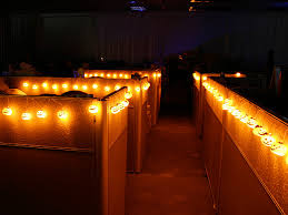 office cubicle lighting. Cubicle-Worthy Pumpkin Lights Office Cubicle Lighting