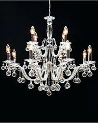 no light crystal chandelier chrome light crystal ball drop chandelier gerhart 4 light crystal chandelier mormont
