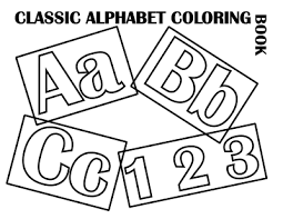 clic alphabet cover at coloring pages for kids boys dot