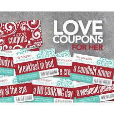 Love Coupons For Her Printable Instant Download