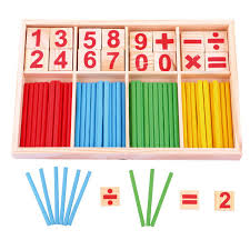 Wooden Math Games Wooden Toys Mathematics Numbers Puzzle Toys for Children Kid 68