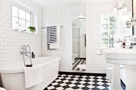 Impressive Bathroom Tiles Black And White Tile Now We Move Onto Bathrooms Kitchens To Creativity Design
