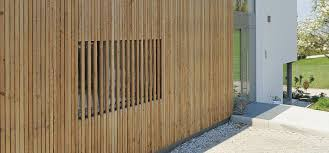 Langlebige Und Schöne Holzfassaden Aus Lärche Oder Weißtanne M
