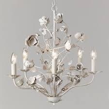 john lewis poppy 5 arm chandelier ceiling light grey