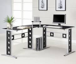 image of home design modern l shaped office desk ideas room designs inside l shaped
