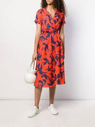 Être Cécile Bird Jacque midi dress $344 - Buy AW19 Online - Fast Global  Delivery, Price