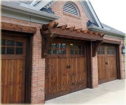 rustic garage doors with style