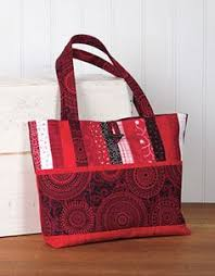 Watermelon Tote This Pretty Tote Will Ease Busy Days - Quilting ... & All About Anna Bag Pattern Download by Loft Creations. Available at  Connectingthreads.com Adamdwight.com