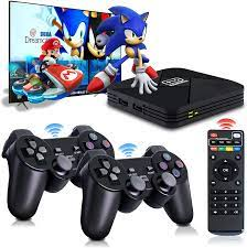 Amazon.com: Game Consoles, Powkiddy B-01 Video Game Console In 40+ Emulator  Console For 4k TV HD Output,32000+ Games In Super Console X Pro ,Retro  Console With Dual Wireless 2.4g Controllers,Gift For Adult/Child :