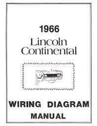 lincoln 1966 continental wiring diagram manual 66 ebay 1966 Lincoln Continental Window Wiring Diagram 1966 Lincoln Continental Wiring Diagram #12