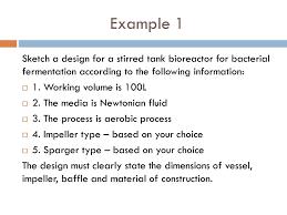Bioreactor Design Ppt Chapter 5 Bioreactor Design Scale Up Ppt Download