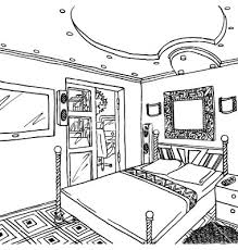 bedroom clipart black and white. cartoon bedroom cliparts #2526554 clipart black and white