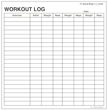 Daily Exercise Log Time Log Templates Daily Exercise Sheet Whatapps Co