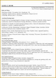 5 Writing Curriculum Vitae Besttemplates Besttemplates