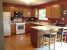 kitchen paint ideas with wood cabinets most significant fascinating kitchen paint ideas with light