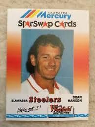 DEAN HANSON 90s Illawarra Steelers Mercury Star Swap Westfield Nrl Card    eBay
