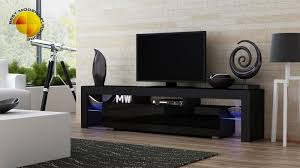 modern tv stand black. modern-tv-stand-130cm-high-gloss-cabinet-free- modern tv stand black i