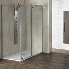 aquaglass 8mm glide sliding shower door throughout aqua glass showers decor 11