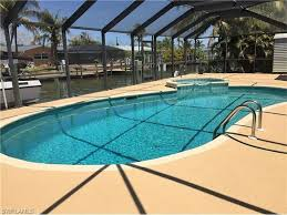 Walk In Pools Gulf Access Canal Home With Private Pool Sp Vrbo
