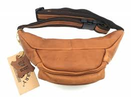 hill burry hill burry vb10032 3044 leather waist bag pouch firmly
