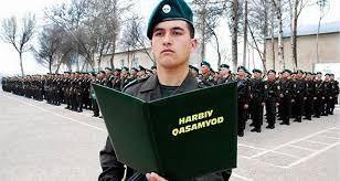 Армия Узбекистана тайна за семью печатями Принятие военной присяги Архивное фото