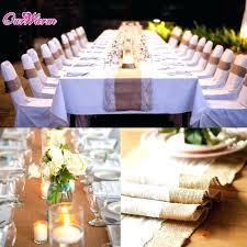 round table runners customize your burlap
