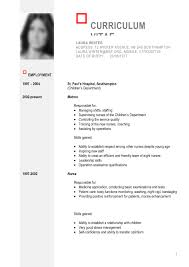 Curriculum Vitae Template Free Download South Africa New Cv Job