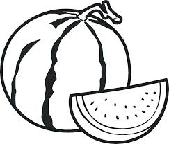 Fruit Coloring Pages For Toddlers Kids Drawing A Basket Of Page The